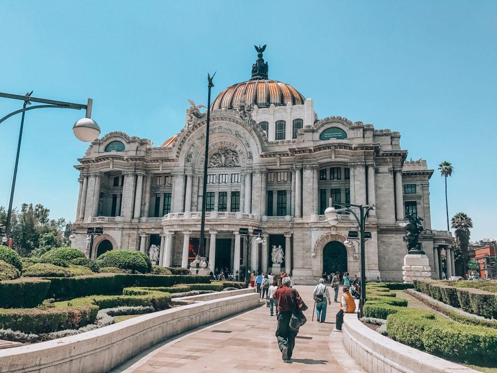 Palacio del Bellas Artes in Mexico City