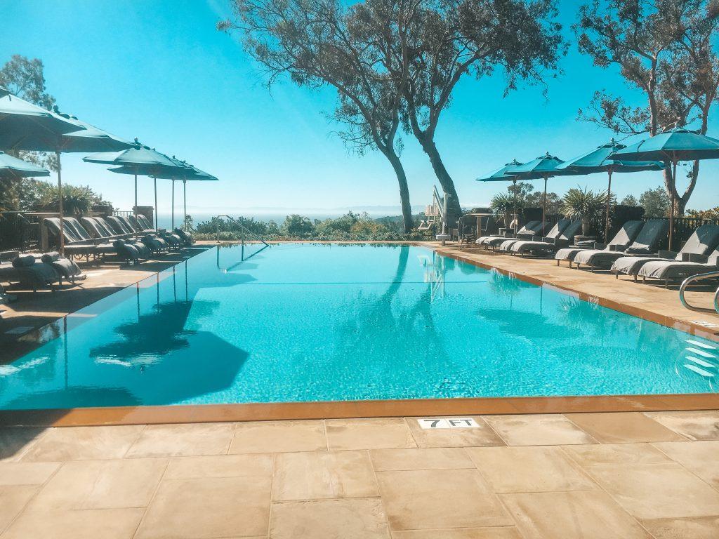 Pool at El Encanto, A Belmond Hotel